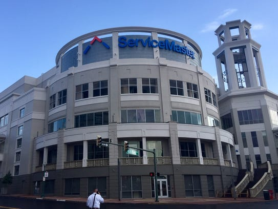 ServiceMaster's new Downtown headquarters