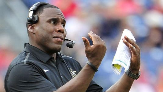Vanderbilt coach Derek Mason is off to an 0-2 start that is not sitting well with a number of Commodores fans.