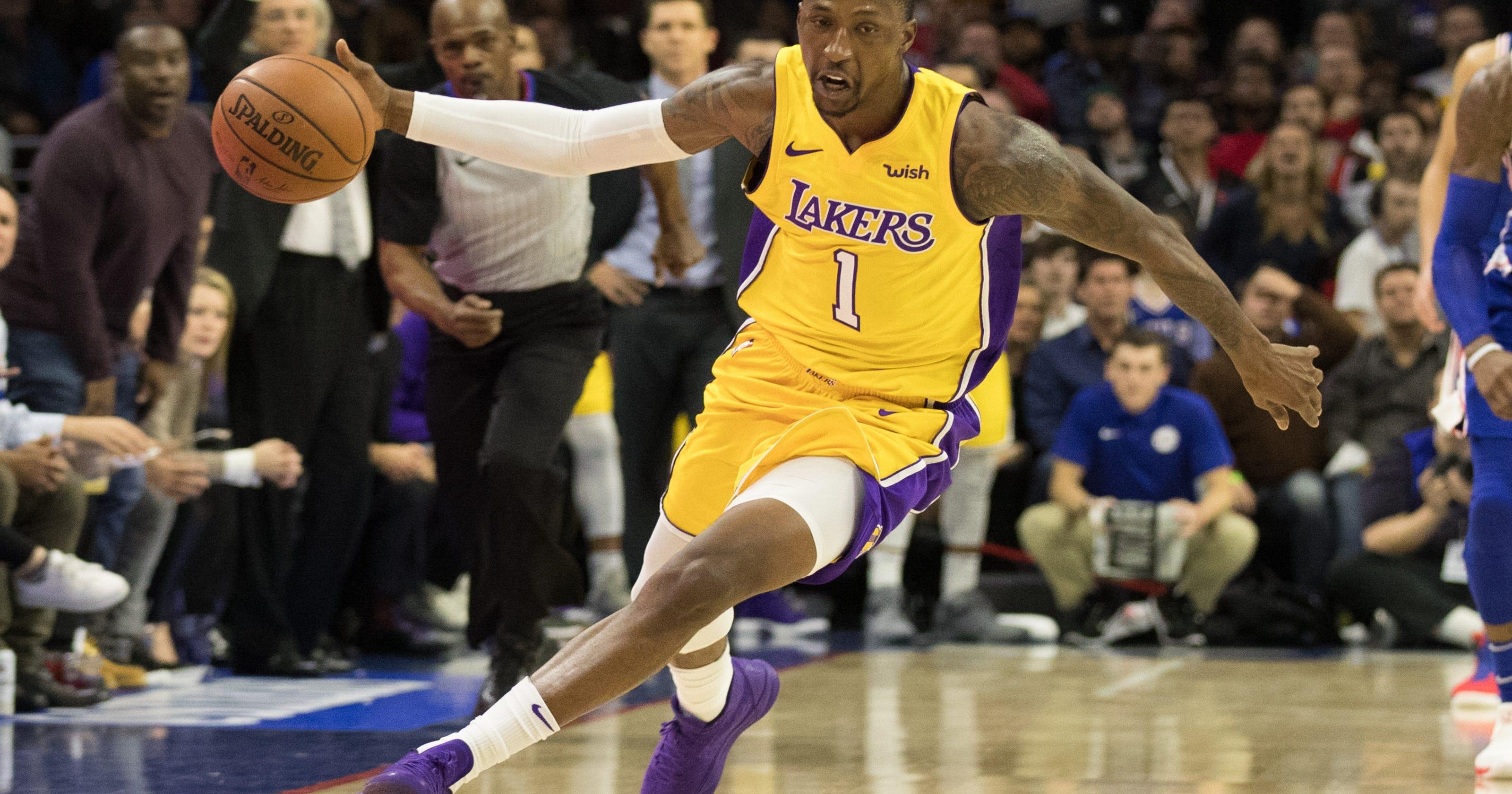 Lakers' Kentavious Caldwell-Pope serving jail sentence while playing