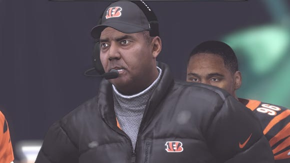 Can digital Marvin Lewis lead the Bengals past the Raiders?