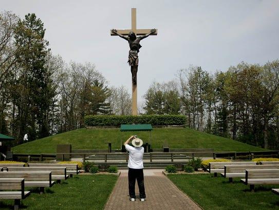 Cross in the Woods National Shrine.
