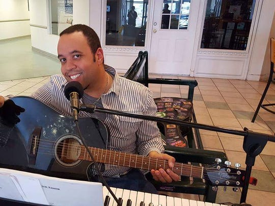 Piano player Myael Simpkins will perform at County Fare on Valentine's Day.