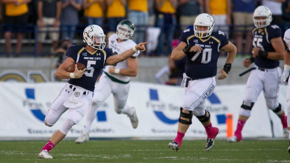 Oregon quarterback Dakota Prukop is a graduate transfer from Montana State.