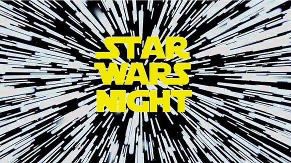 Boomtown, 2430 Wyoming, will host Star Wars Night in celebration of May the 4, also known as Star Wars Day.
