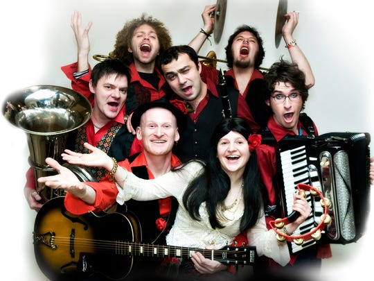 Chervona is bringing the fire of Eastern European carnivals to the land of America with a show 9 p.m. Sept. 23 at The Governor's Cup Coffee Roasters.