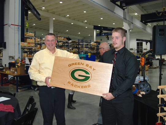 Rick Murphy (left), president of Common Links Construction,