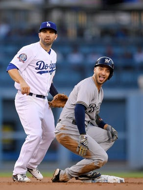 Dodgers 6 Brewers 4 Matt Albers Serves Up Walk Off Homer