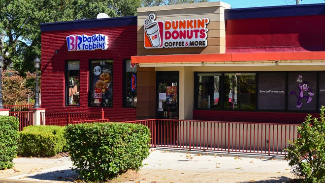 A view of the beloved Dunkin' Donuts on Copeland.