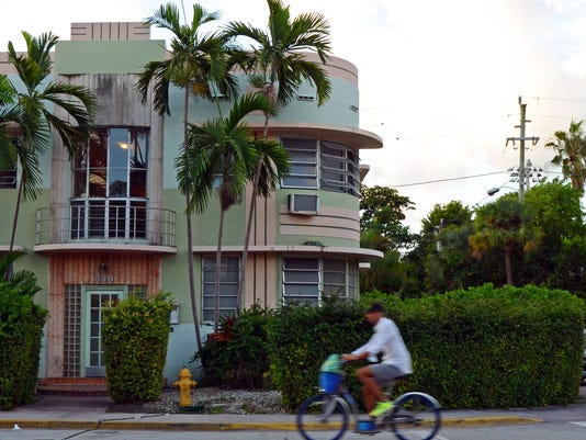 South Beach Side Streets