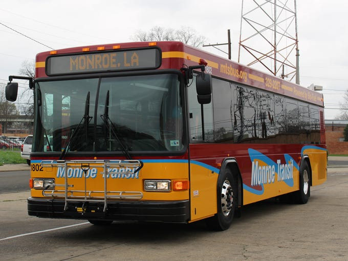 Five new buses hit the street for Monroe Transit on