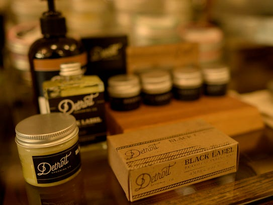 Products made by Detroit Grooming Company.