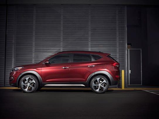 The 2017 Hyundai Tucson.