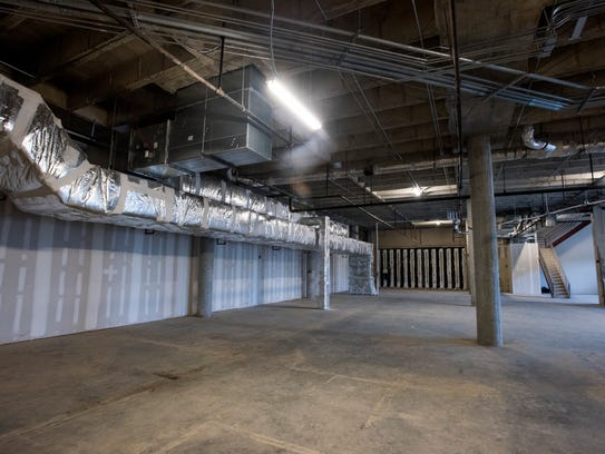 Room for future expansion at the new LAMP High School