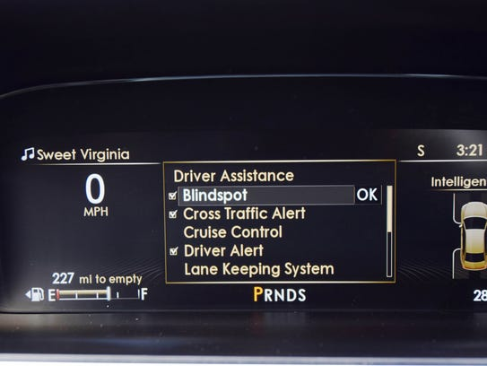 Driver-assistance features plentiful in Lincoln Continental.