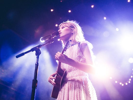 Grace VanderWaal performs at Irving Plaza