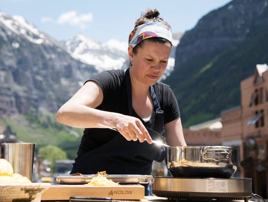 Denver Chef Carrie Baird, a current contestant on Season