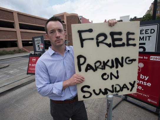 Downtown business owner Kevin Lehman is challenging