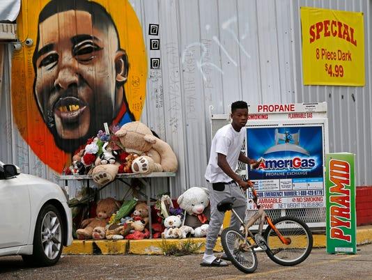 AP POLICE SHOOTING LOUISIANA A FILE USA LA