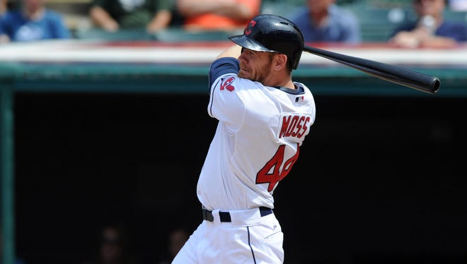 Brandon Moss will provide outfield and first base depth for the Cardinals.