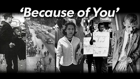 'Because of You,' a series of profiles highlighting