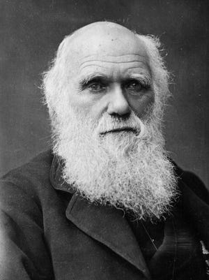 One of the last photographs taken of Charles Darwin, circa 1878.