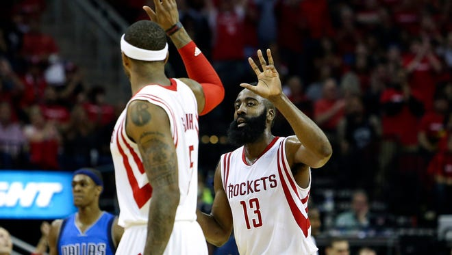 James Harden scored a team-high 24 points for the Rockets, including 15 from the foul line.