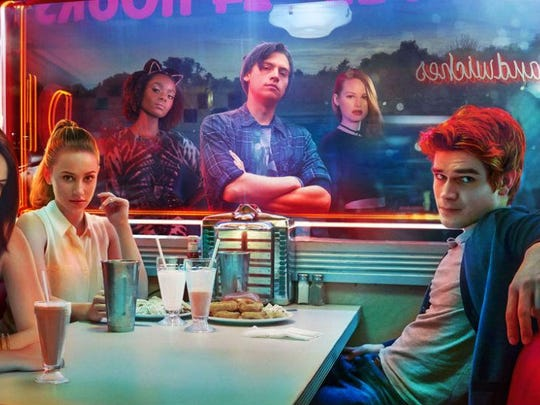 """Riverdale"" offers a darkly pensive Jughead, forever writing in his journal, and a subversive take on a goofy comic book characters."