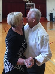 Pastor Steve Goforth asks his bride of 50 years for
