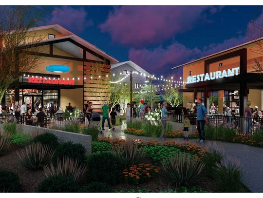 A new restaurant and retail hub called 83 Marketplace