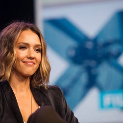 "Actress Jessica Alba, founder of The Honest Co., during SXSW panel ""Inc. Presents: The Honest Company"" during SXSW on Sunday, March 15, 2015."