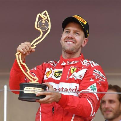 Sebastian Vettel wins Monaco Grand Prix in banner day for Ferrari