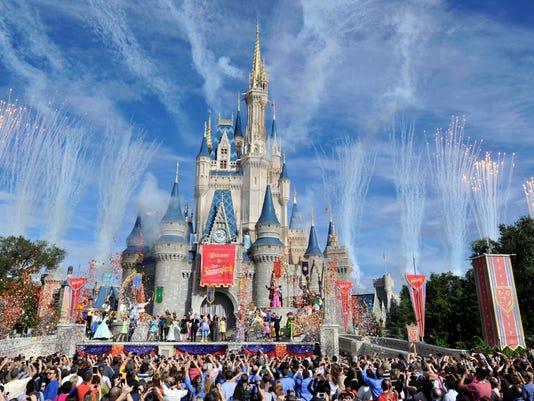 XXX XXX NEW FANTASYLAND OPENS AT WALT DISNEY WORLD A USA FL