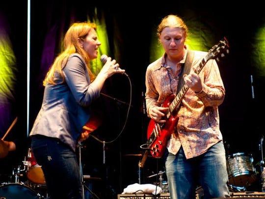 Susan Tedeschi and Derek Trucks will perform Sunday afternoon in Readington.