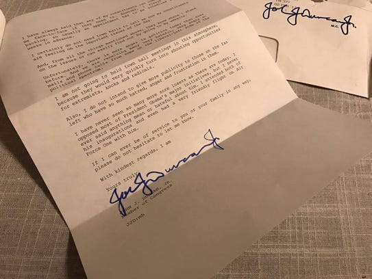 Sarah Herron provided pictures of the letter she received