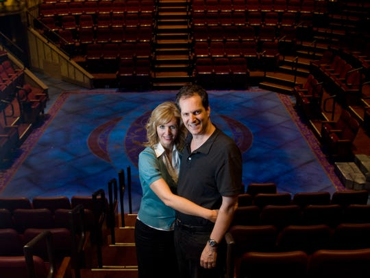 Dave Dietlein and his wife Corrin Dietlein own and operate the Hale Centre Theatre in Gilbert.