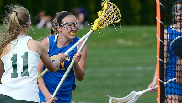 Kennard Dale's Emmie Dressel, right, had two goals
