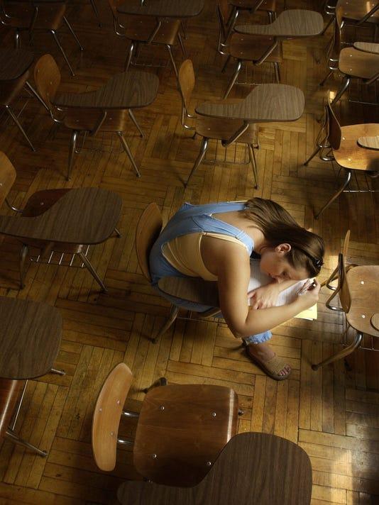 SLEEPING STUDENT ILLUSTRATION