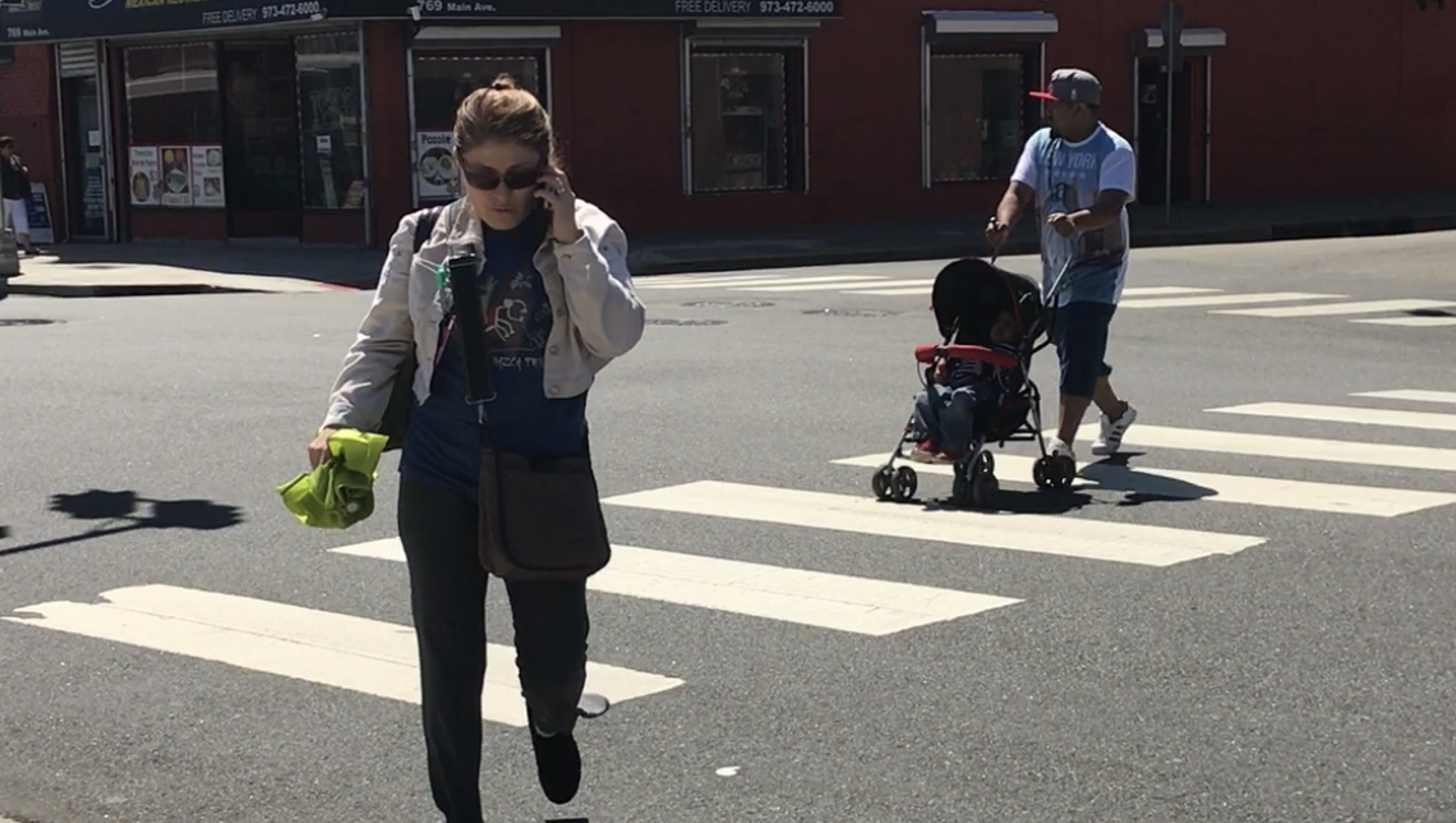 Putting Ped Back Into Pedestrian With >> Nj Town May Levy Fines On Texting Pedestrians
