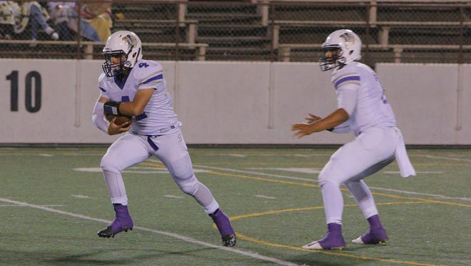 Soledad High's football team is 3-0 in the Mission Trail Athletic League this season.