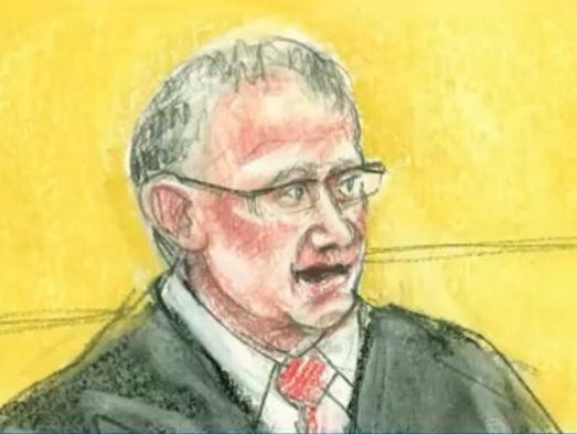 G. Murray Snow. U.S. District Court judge who presided