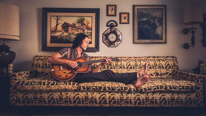 """Singer and songwriter David Rosales is currently pushing his latest release """"Brave Ones."""" He plays Friday night at the Deer Lodge in Meiners Oaks."""