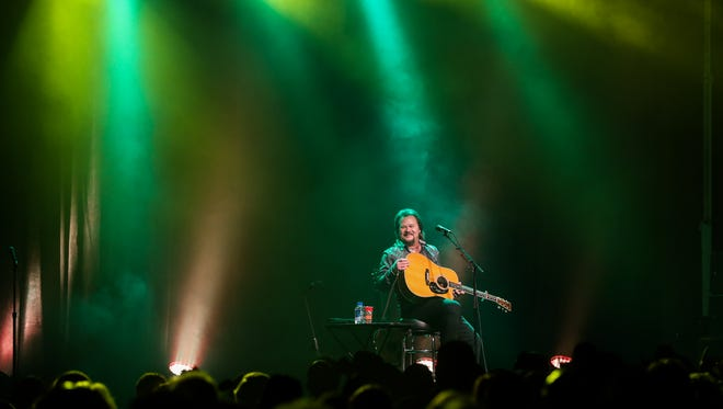About 1200 people attend an acoustic performance by Travis Tritt Tuesday, Jan. 10, 2017, at the McNease Convention Center.