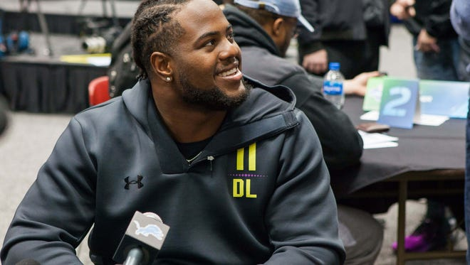 Former Green Bay Southwest standout Kahlil McKenzie was drafted by the Kansas City Chiefs on Saturday.