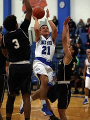 Lake View's Timothy Aguero averaged 21.4 points per game for the Chiefs during the 2016-17 season.