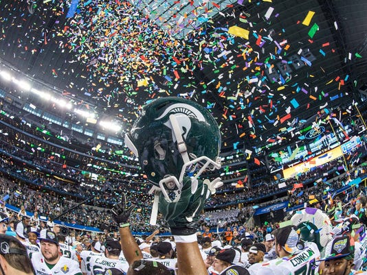 NCAA Football: Cotton Bowl Classic-Michigan State vs Baylor