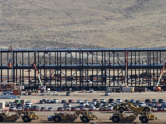 Tesla Gigafactory Construction Update