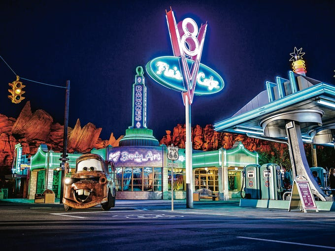 Cars Land opened June 15, 2012, and has brought rush