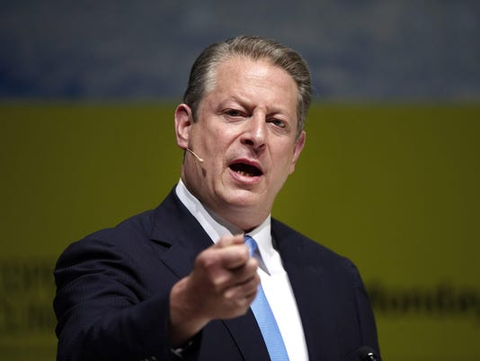 Gore urges businesses to back climate treaty