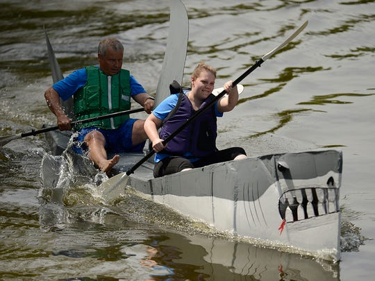 The Redneck Regatta will be held on Saturday during Celebrate De Pere at the Brown County Fairgrounds.