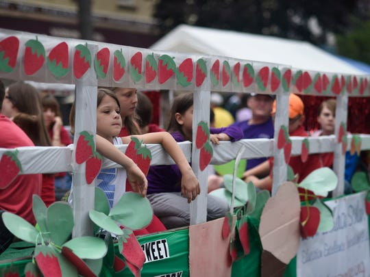 Thousands attended the 35th annual Strawberry Festival in Oswego on Saturday afternoon.